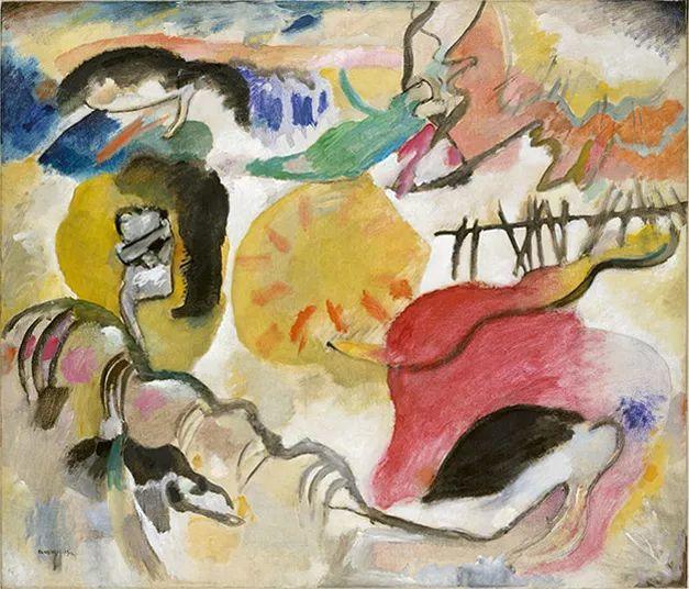 现代抽象绘画的创始人——俄罗斯康定斯基插图39