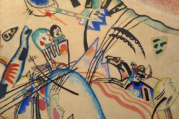 现代抽象绘画的创始人——俄罗斯康定斯基插图53