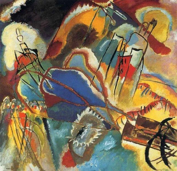 现代抽象绘画的创始人——俄罗斯康定斯基插图55