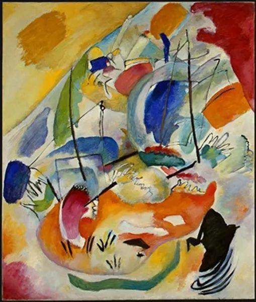 现代抽象绘画的创始人——俄罗斯康定斯基插图57