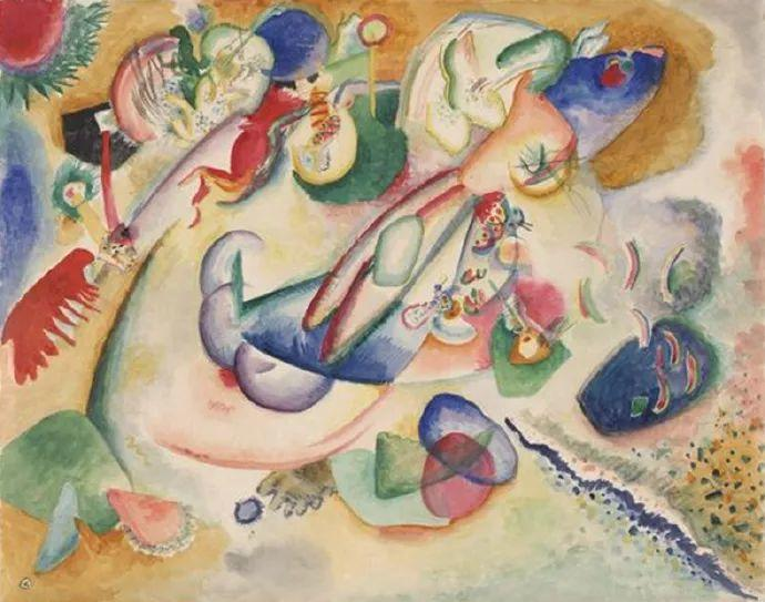 现代抽象绘画的创始人——俄罗斯康定斯基插图67