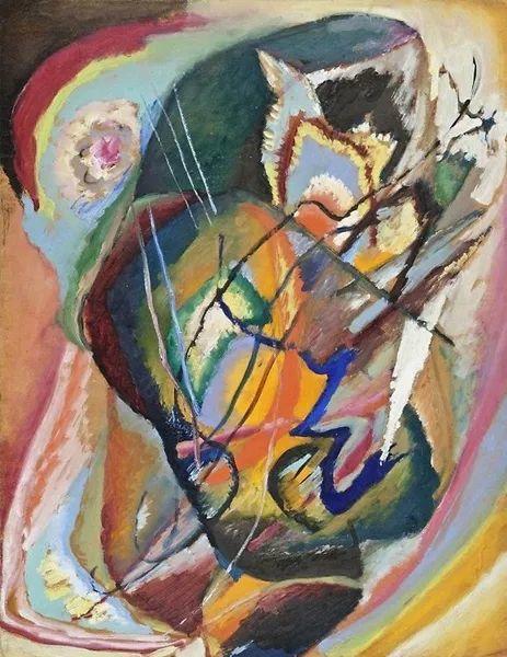 现代抽象绘画的创始人——俄罗斯康定斯基插图71