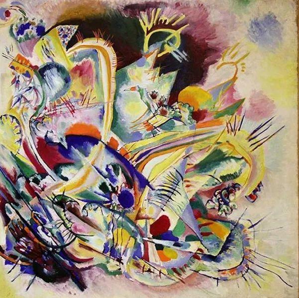 现代抽象绘画的创始人——俄罗斯康定斯基插图73