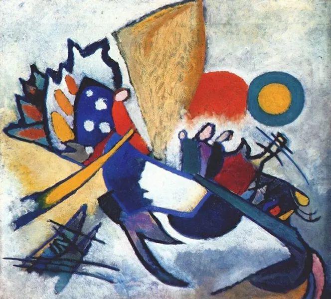 现代抽象绘画的创始人——俄罗斯康定斯基插图77