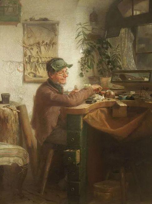 1858年画的中国茶室——捷克画家马内斯插图5