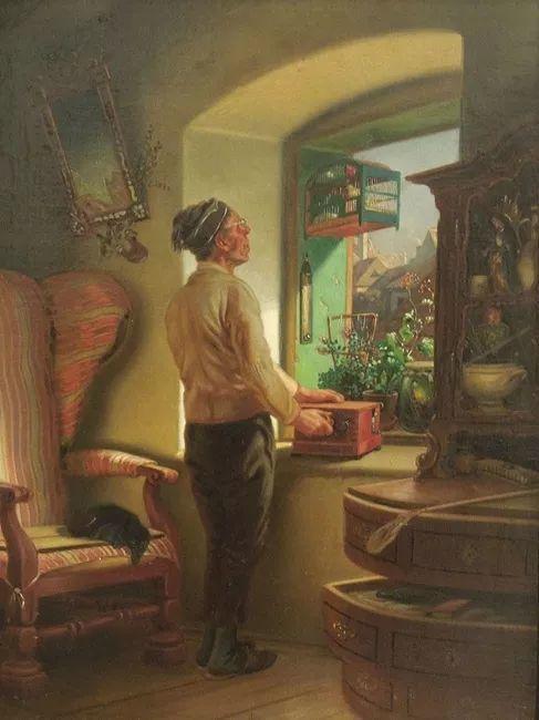 1858年画的中国茶室——捷克画家马内斯插图9
