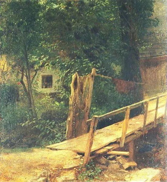 1858年画的中国茶室——捷克画家马内斯插图17