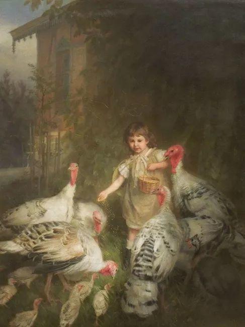 1858年画的中国茶室——捷克画家马内斯插图25