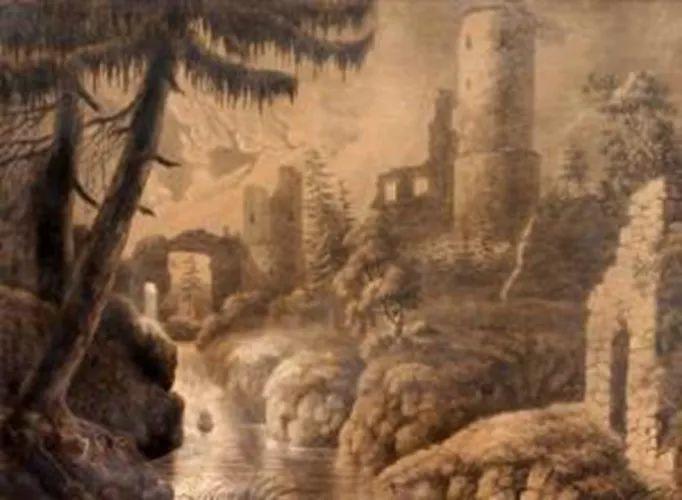 1858年画的中国茶室——捷克画家马内斯插图41