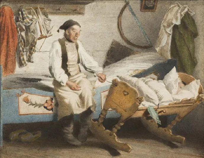 1858年画的中国茶室——捷克画家马内斯插图51