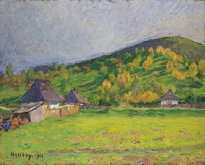匈牙利油画家和教育家——西蒙·奥罗西插图