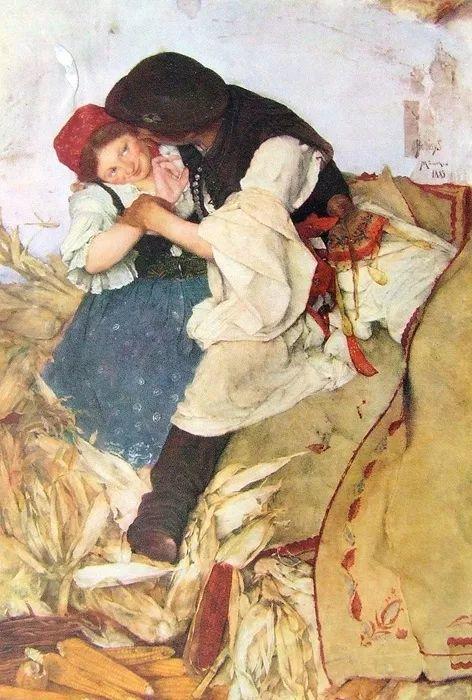 匈牙利油画家和教育家——西蒙·奥罗西插图1