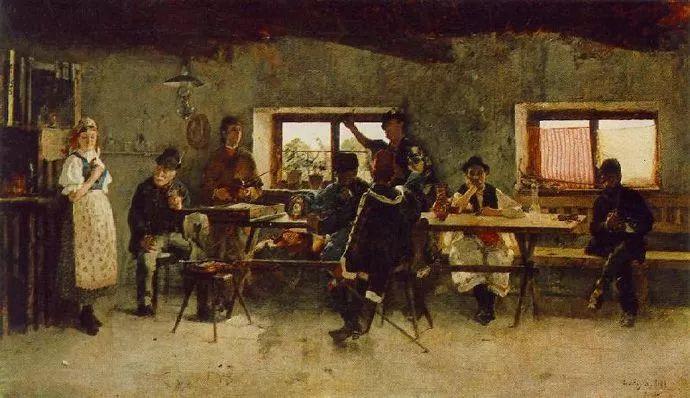 匈牙利油画家和教育家——西蒙·奥罗西插图9