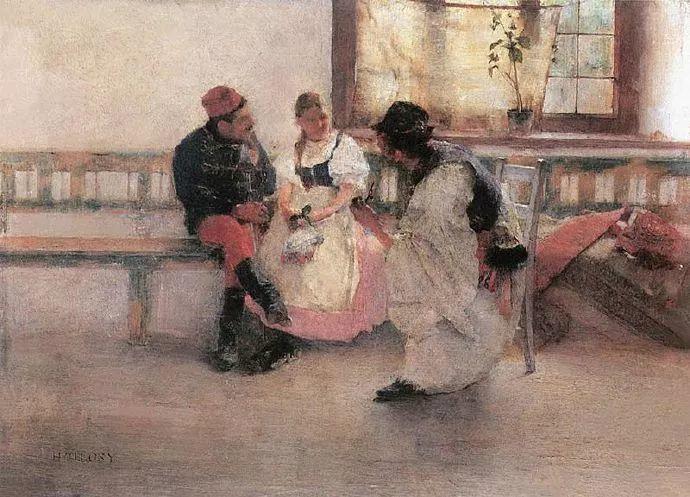 匈牙利油画家和教育家——西蒙·奥罗西插图10