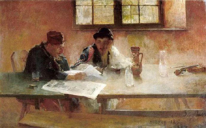 匈牙利油画家和教育家——西蒙·奥罗西插图11