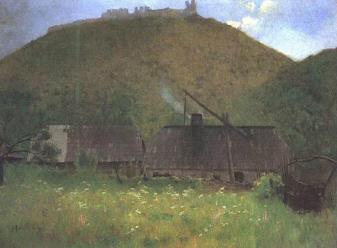匈牙利油画家和教育家——西蒙·奥罗西插图13