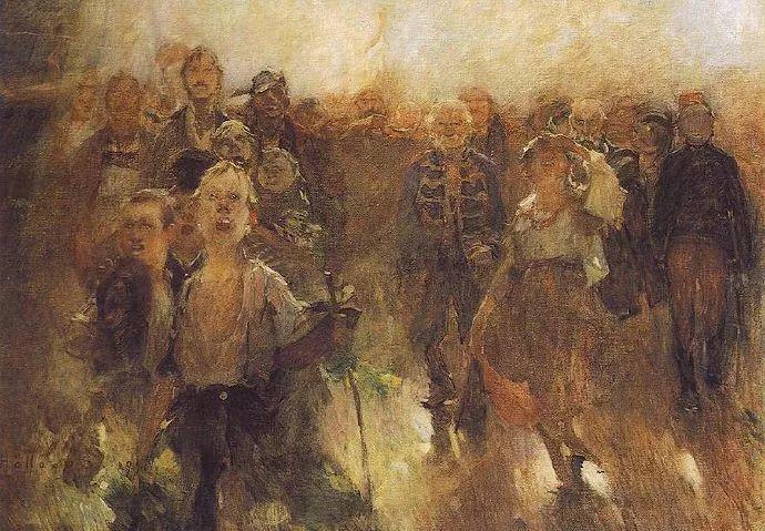 匈牙利油画家和教育家——西蒙·奥罗西插图15