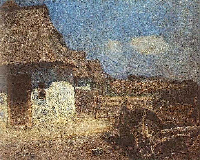 匈牙利油画家和教育家——西蒙·奥罗西插图23