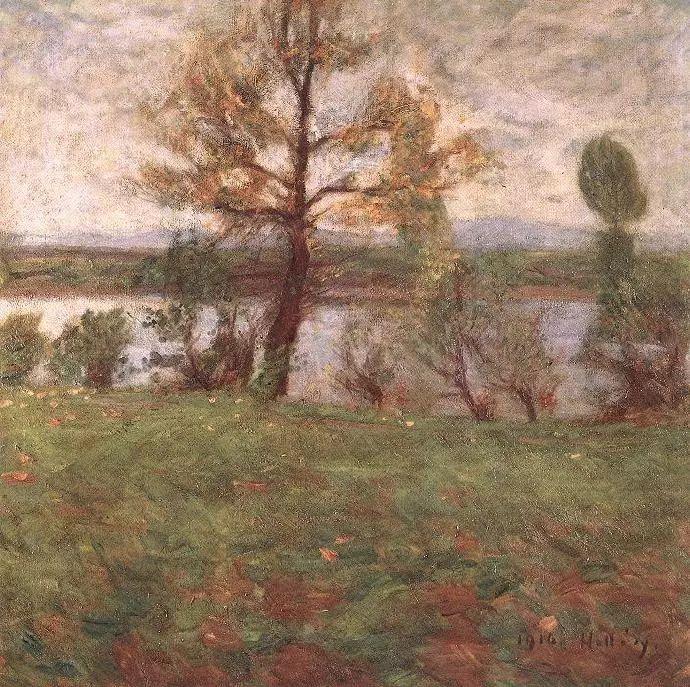 匈牙利油画家和教育家——西蒙·奥罗西插图24