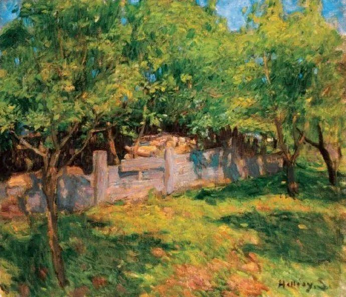 匈牙利油画家和教育家——西蒙·奥罗西插图31