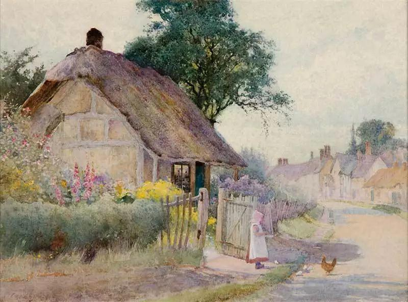 英国维多利亚后期的乡村,童话故事里的房子,令人向往插图3