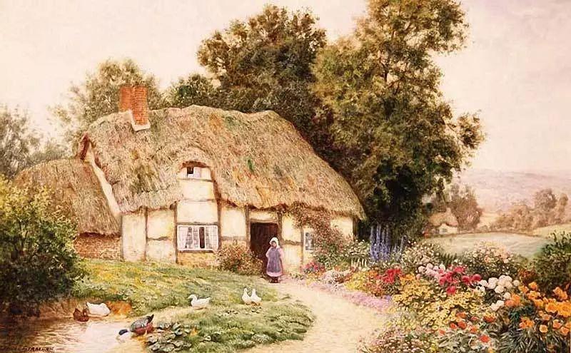 英国维多利亚后期的乡村,童话故事里的房子,令人向往插图5