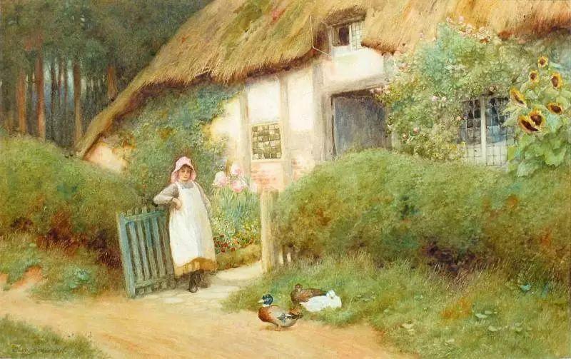 英国维多利亚后期的乡村,童话故事里的房子,令人向往插图11