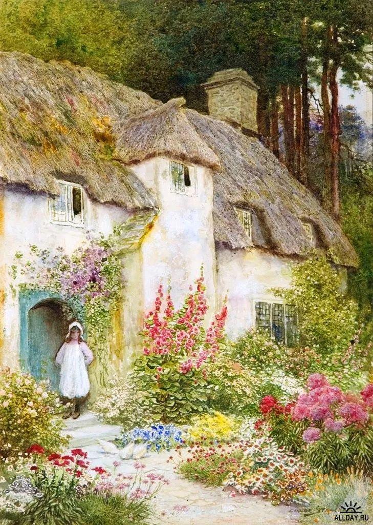 英国维多利亚后期的乡村,童话故事里的房子,令人向往插图13