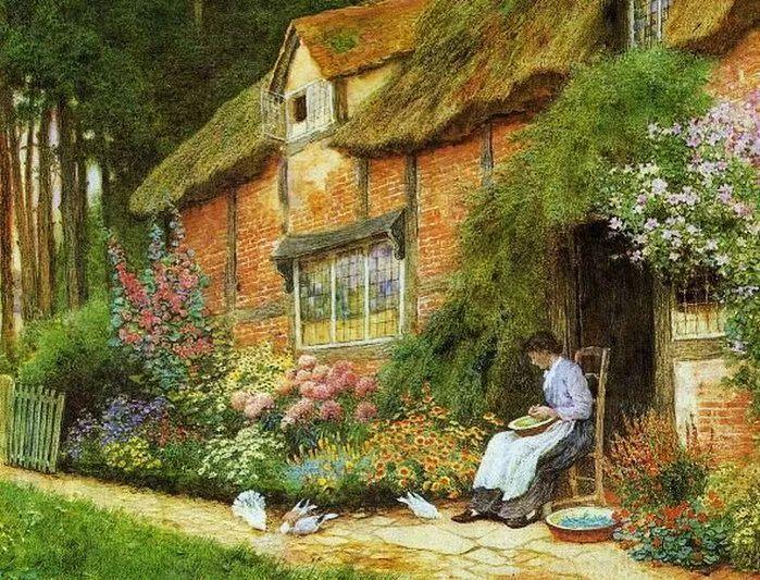 英国维多利亚后期的乡村,童话故事里的房子,令人向往插图15