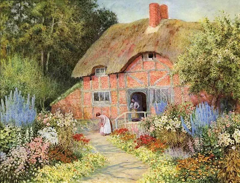 英国维多利亚后期的乡村,童话故事里的房子,令人向往插图17