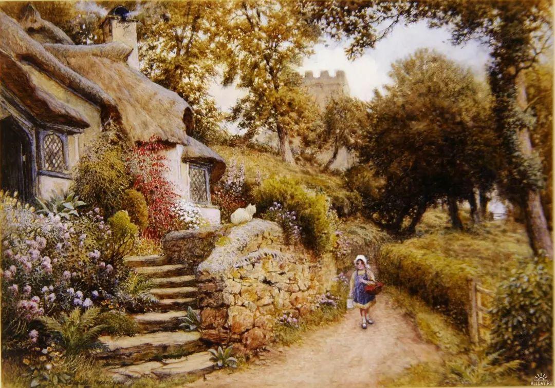 英国维多利亚后期的乡村,童话故事里的房子,令人向往插图27
