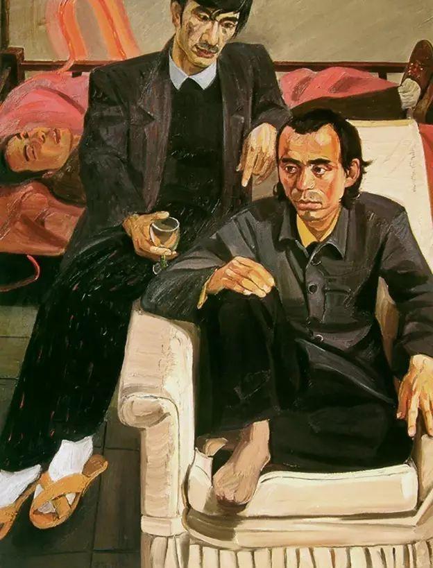 一幅画6000万,他说:画画和生命过程一样是个'熬'字插图13