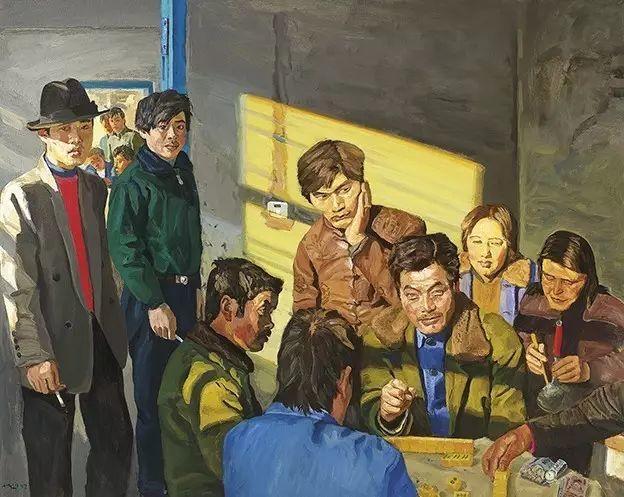 一幅画6000万,他说:画画和生命过程一样是个'熬'字插图91