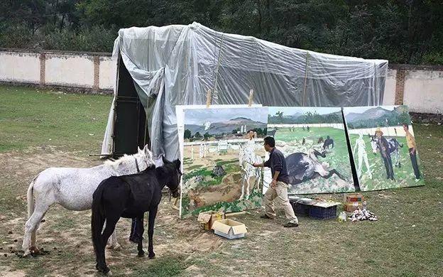 一幅画6000万,他说:画画和生命过程一样是个'熬'字插图127