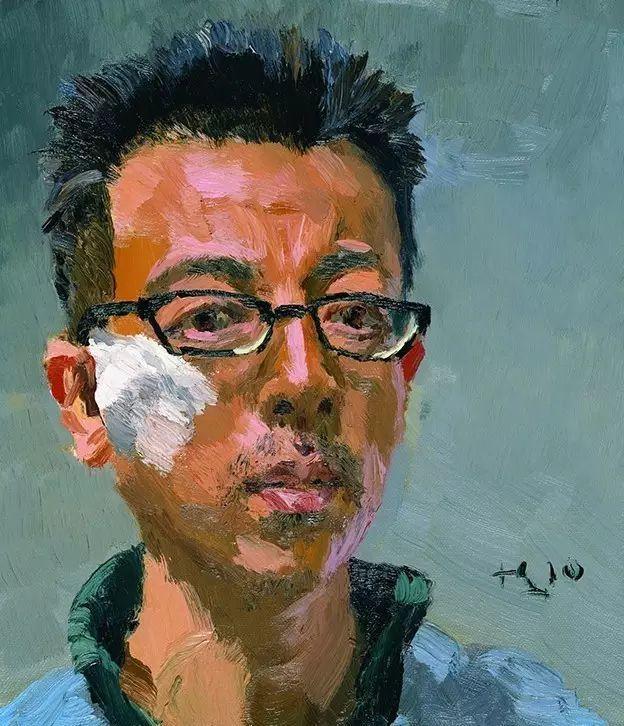 一幅画6000万,他说:画画和生命过程一样是个'熬'字插图132