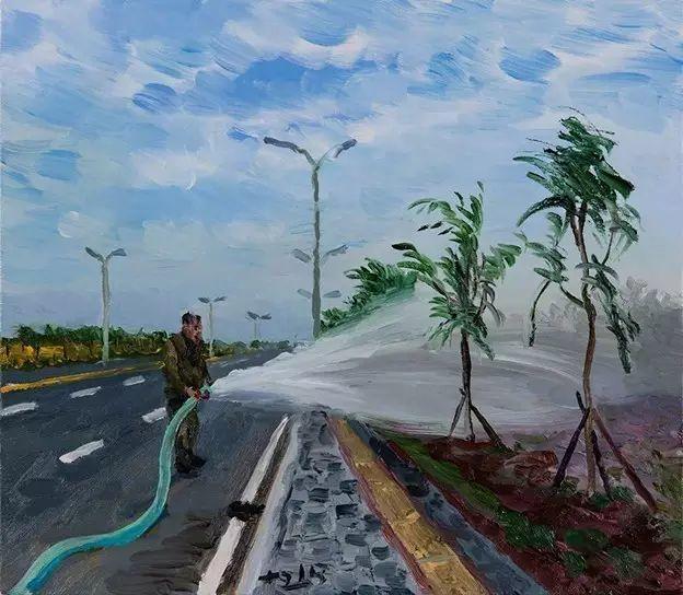 一幅画6000万,他说:画画和生命过程一样是个'熬'字插图139