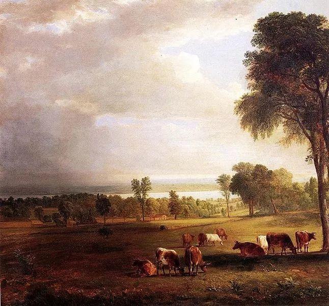 """杜兰德——他经常被称为""""美国风景画之父""""插图1"""