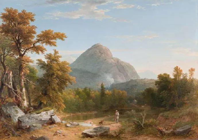 """杜兰德——他经常被称为""""美国风景画之父""""插图2"""