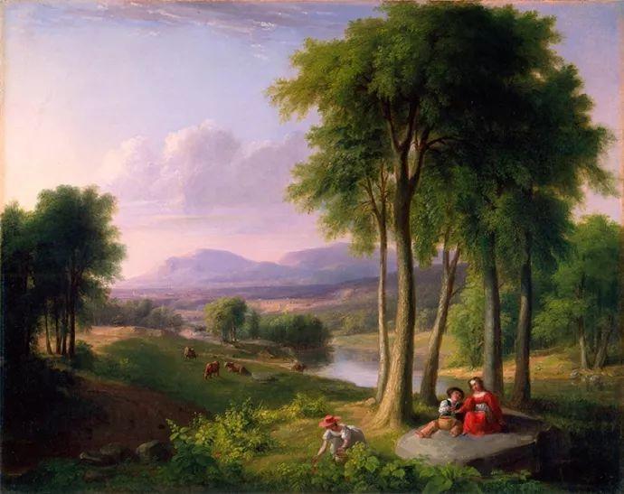 """杜兰德——他经常被称为""""美国风景画之父""""插图3"""