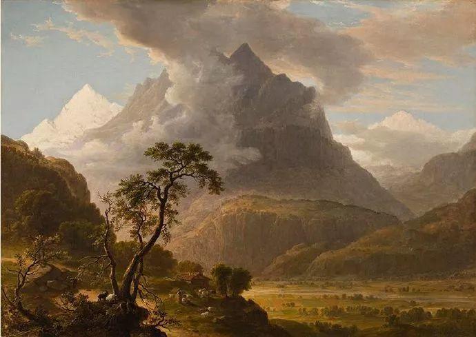 """杜兰德——他经常被称为""""美国风景画之父""""插图4"""