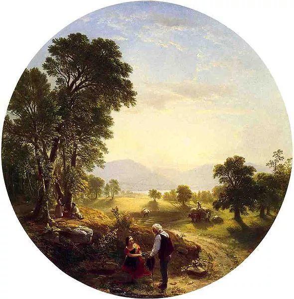 """杜兰德——他经常被称为""""美国风景画之父""""插图5"""