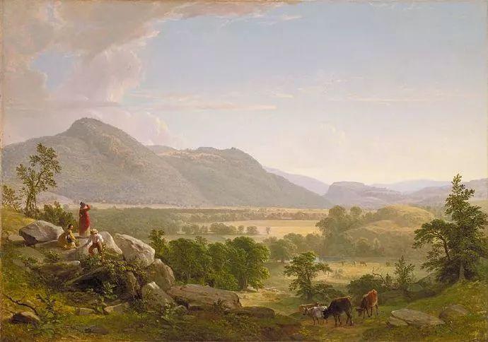 """杜兰德——他经常被称为""""美国风景画之父""""插图8"""