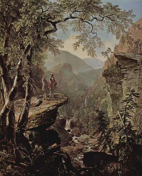 """杜兰德——他经常被称为""""美国风景画之父""""插图9"""