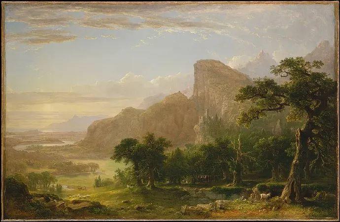 """杜兰德——他经常被称为""""美国风景画之父""""插图12"""