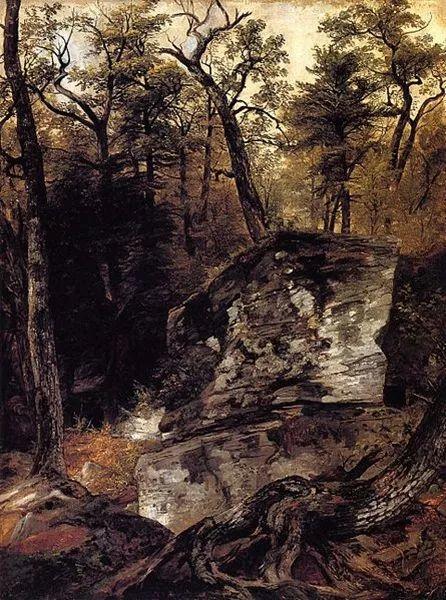 """杜兰德——他经常被称为""""美国风景画之父""""插图13"""