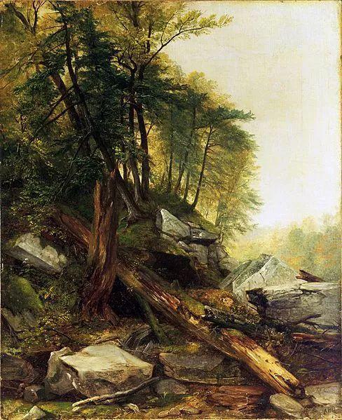 """杜兰德——他经常被称为""""美国风景画之父""""插图14"""
