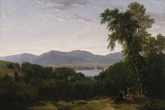 """杜兰德——他经常被称为""""美国风景画之父""""插图16"""