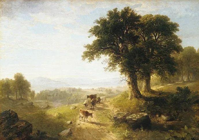 """杜兰德——他经常被称为""""美国风景画之父""""插图17"""