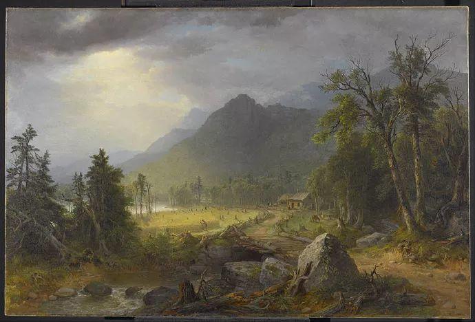 """杜兰德——他经常被称为""""美国风景画之父""""插图18"""