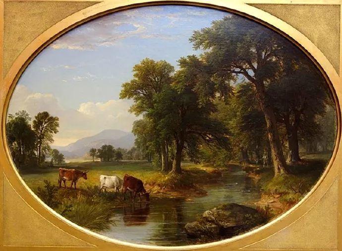 """杜兰德——他经常被称为""""美国风景画之父""""插图19"""
